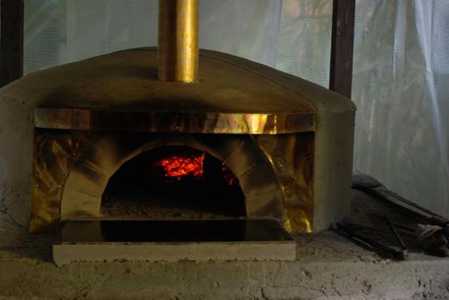 この日、初めて火を入れたらしいです