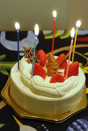 ケーキには蝋燭が必要です(前フリ)