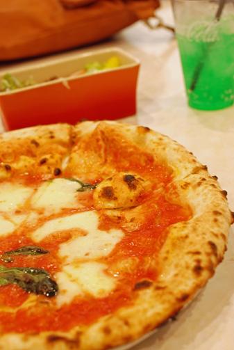 釜焼きピザがありました